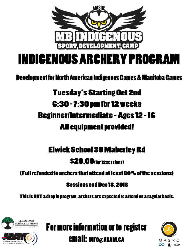 indiginous-archery-program-poster